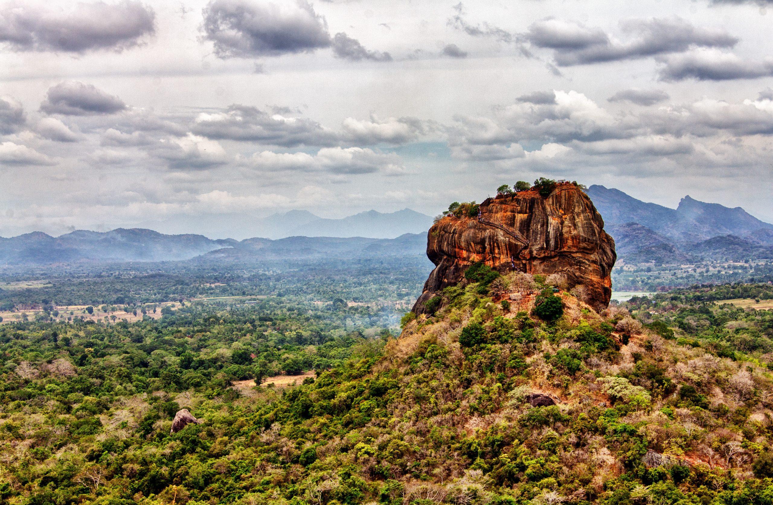 Sigiriya rock - places to visit in sri lanka